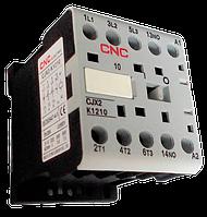 Контактор малогабаритный CJX2-К-1210, АС-3 380В (5,5 кВт), катушка 220В, 1NO, CNC