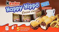Батончики Киндер Happy Hippo Cocoa cream 103,5 г. Германия! , фото 1