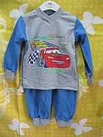 "Пижама начес "" Тачки"" р 92\98"