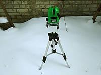 Лазерный уровень, нивелир AL-FA ALNL02 Зеленый луч 50м(Лазерний рівень измерительный инструмент нивелир )
