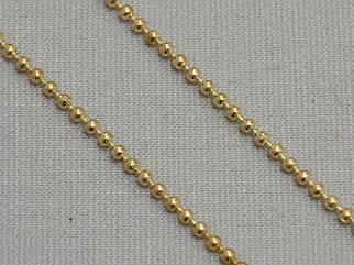 Декоративная металлическая цепочка (цвет золото) арт.15213-g, цена за бобину (10метров).