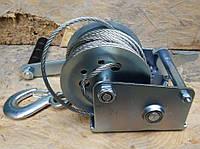 🔴Лебедка ручная Euro Craft с тросом, 360 кг, 10 м(Лебедка ручная подъемники Евро Крафт)