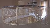 Коаные перила на лестницу модель №1, фото 3