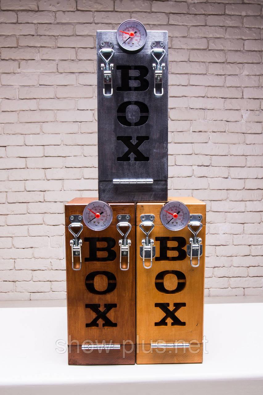 SHOWplus IceBox - оборудование для производства сухого льда в «домашних условиях» Серебро