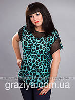 Женские блузы, кофты, туники больших размеров