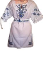 Коротке жіноче плаття з вишивкою Веселка 968c28298910d