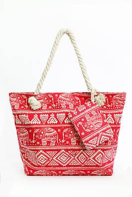 70a51f87504d Пляжная сумка Фаафу красная - купить по низкой цене! женские сумочки ...