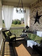 Как выбрать шторы для веранды? 5 шагов