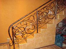 Кованые перила на лестницу модель №2, фото 2