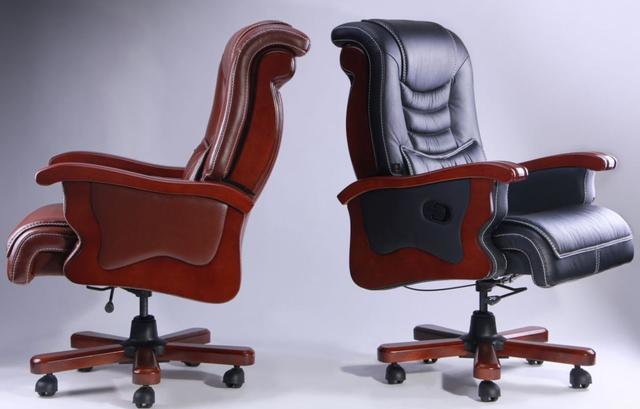 Кресло Монреаль HB Кожа Люкс комбинированная (675-B+PVC) ассортимент