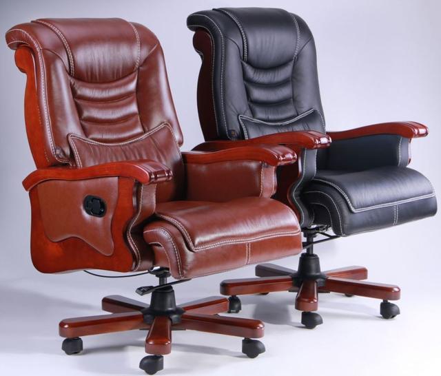 Кресло Монреаль HB Кожа Люкс комбинированная (675-B+PVC) ассортимент (Фото 2)