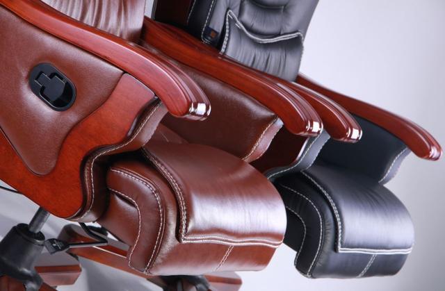 Кресло Монреаль HB Кожа Люкс комбинированная (675-B+PVC) ассортимент (Фото 3)