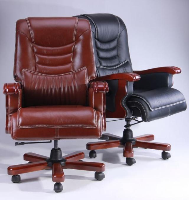Кресло Монреаль HB Кожа Люкс комбинированная (675-B+PVC) ассортимент (Фото 5)