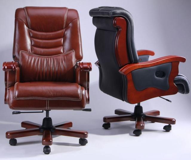 Кресло Монреаль HB Кожа Люкс комбинированная (675-B+PVC) ассортимент (Фото 6)