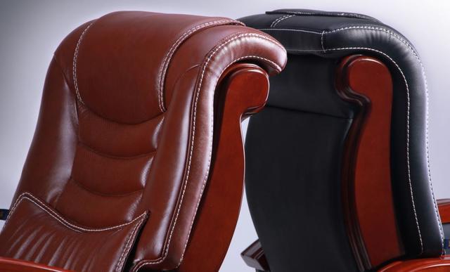 Кресло Монреаль HB Кожа Люкс комбинированная (675-B+PVC) ассортимент (Фото 7)