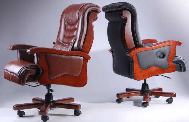 Кресло Монреаль HB Кожа Люкс комбинированная (675-B+PVC) ассортимент (Фото 8)