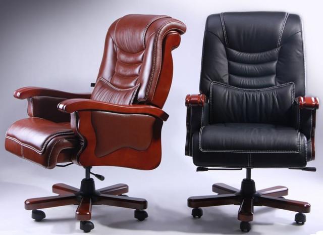Кресло Монреаль HB Кожа Люкс комбинированная (675-B+PVC) ассортимент (Фото 9)