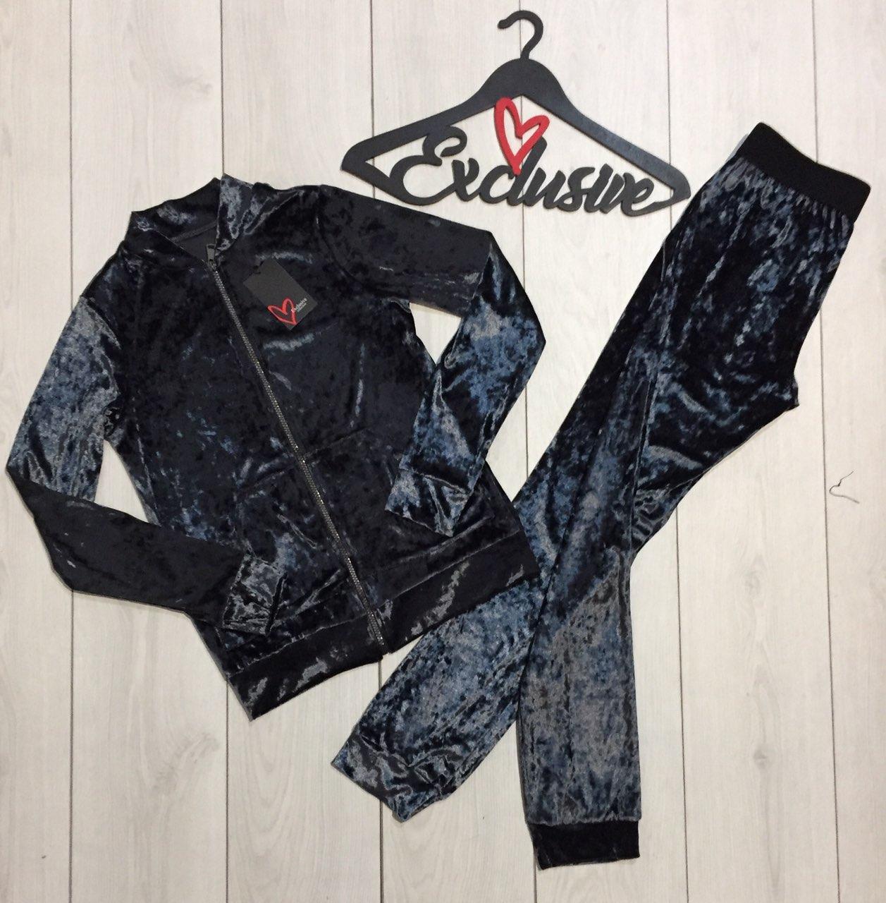 027ac2441ec8 Велюровый костюм модный штаны и кофта 069, женские спортивные костюмы.