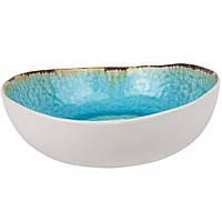 Салатник - 21 х 20  х 6.5 см, Голубой (Cosy&Trendy) Laguna Azzurro