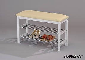 Подставка для обуви с сиденьем, обувница