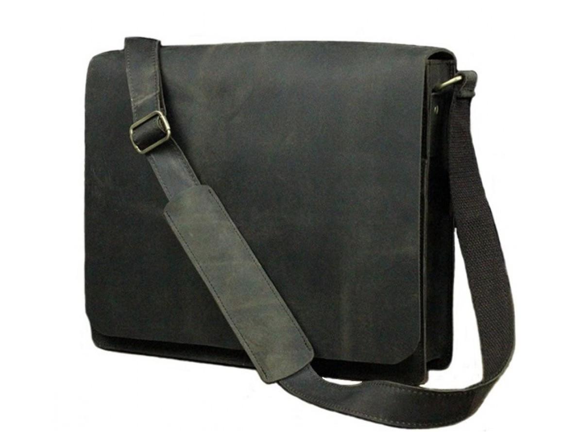 470b14b32ac3 Мужская кожаная сумка через плечо BEXHILL DB306AXB черная - АксМаркет в  Киеве