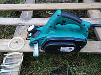 Рубанок электрический EURO CRAFT EP214(электро ручной електрорубанок электрорубанок профессиональный электроинструмент дереву)