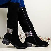 Сапоги женские зимние замшевые - обязательный предмет в гардеробе каждой модницы