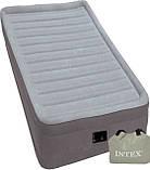 INTEX Надувная кровать(191х99х46см) Comfort-Plush Elevated Airbed 64412, фото 3