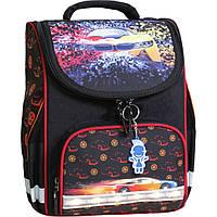 85e4a2c95296 Украина Рюкзак школьный каркасный с фонариками Bagland Успех 12 л. черный  417 (00551703)