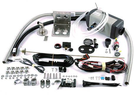 Установка и подключение автономного воздушного отопителя в салон автомобиля, фото 2