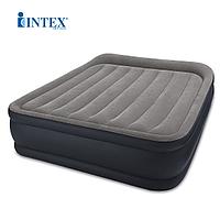 64136 Двуспальная надувная кровать (152х203х42см) Intex