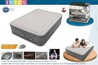 64770 Двуспальная надувная кровать (152х203х46см) Intex