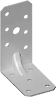 Угловая пластина разносторонняя, с ребрами жесткости 60х35х60х2,5