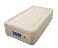 69030 BW Надувная кровать Alwayzaire Fortech 191х97х43см, встроенный электронасос с автоподкачкой