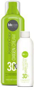 Oкислитель кремообразный  9% Keratin color Oxigen Cream Oxigen BBCos,150 мл 12%