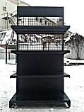 Торгові металеві стелажі б, торговий стелаж б/в, стелажі металеві б у, фото 6
