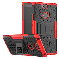 Чехол Sony Xperia XA2 Plus / H4413 противоударный бампер красный