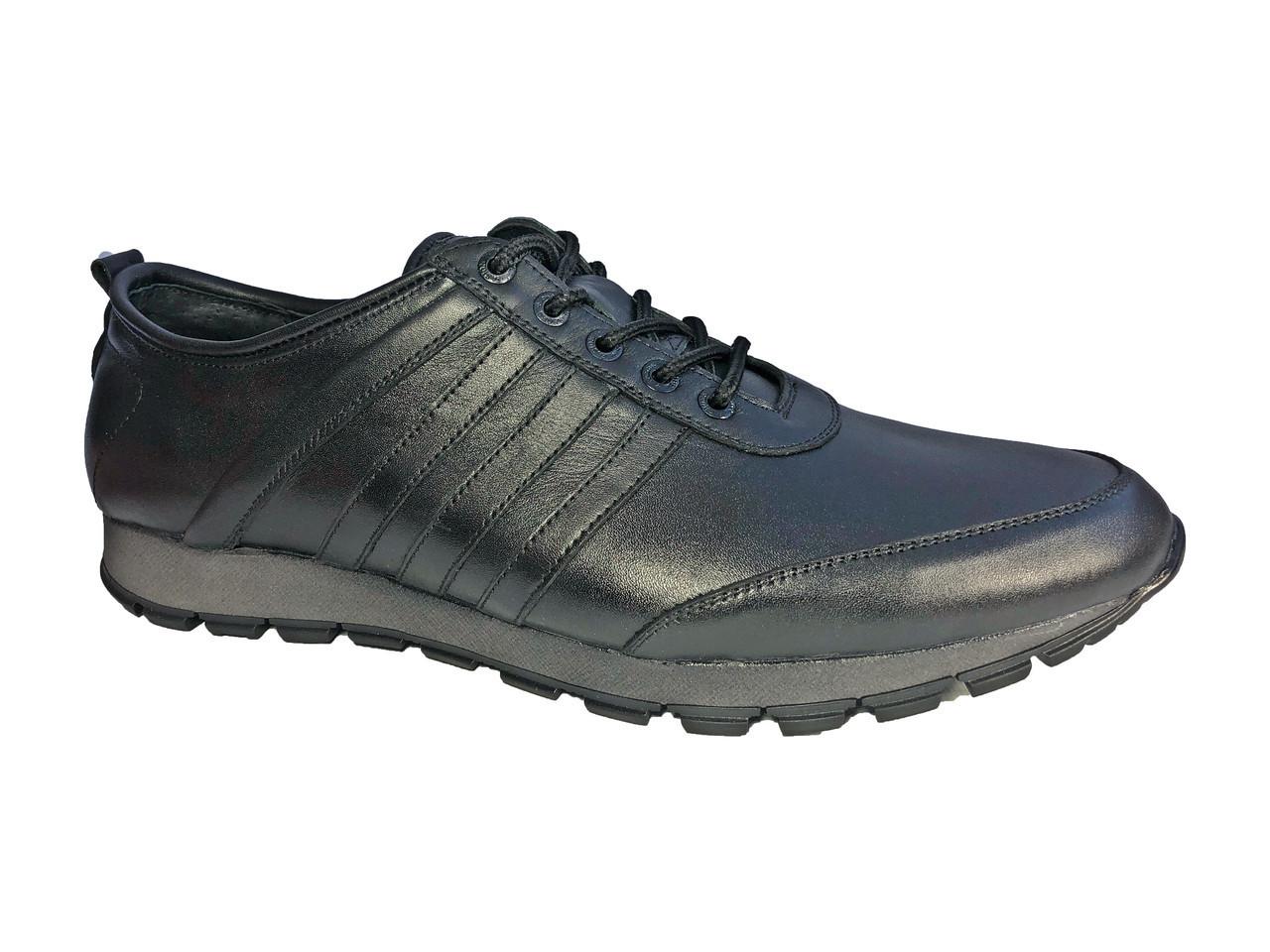 b0d79c1d Кроссовки мужские 48 размера черные модель К-6 - BigBoss-производитель мужской  обуви 40
