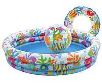 Детский бассейн Рыбки (59469)