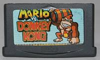 "Картридж на GBA ""MARIO vs. DONKEY KONG"""