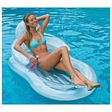"""Матрац-крісло """"Комфортне плавання"""" Intex (155x97) 58857, фото 2"""