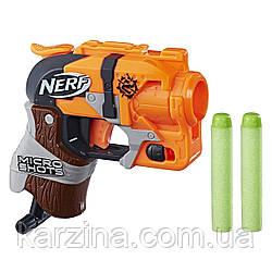 Бластер Nerf MicroShots Zombie Strike Hammershot