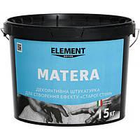Декоративная штукатурка MATERA  ELEMENT DECOR 15 кг создает эффект в средиземноморском стиле