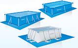 Подстилка для защиты чаши бассейна 2,3х3,3м Bestway 58101, фото 4