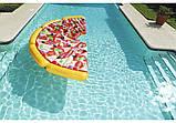 44038 BW Надувной матрас для плавания Пицца,188 х 130 см, фото 4