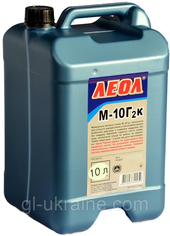 ЛЕОЛ М-10Г2к  Моторное масло  10 л