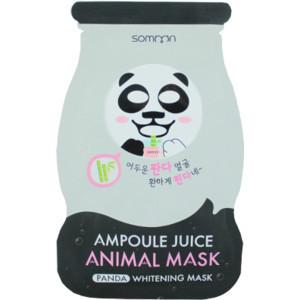 Ампульная маска отбеливающая Somoon Ampoule Juice Animal Mask Panda