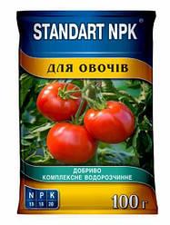 Водорастворимое удобрение для овощей 100 г STANDART NPK