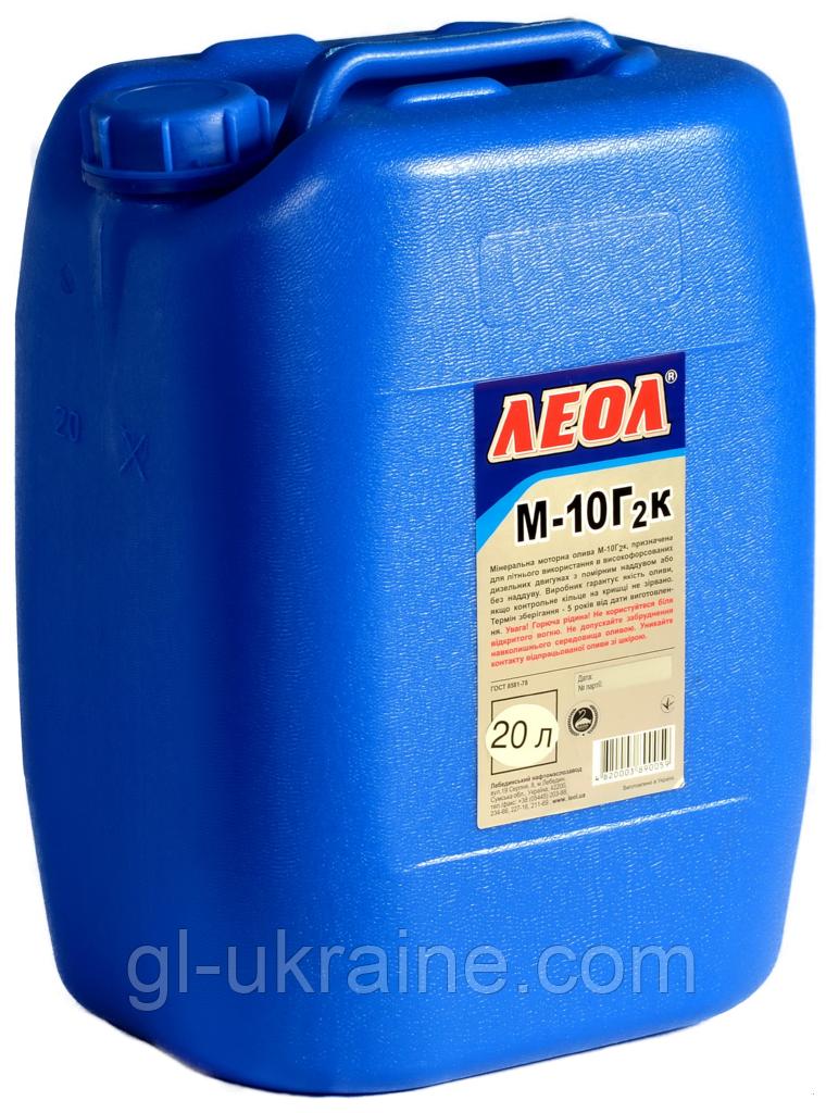 ЛЕОЛ М-10Г2к  Моторное масло  bag in box 20 л