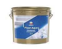 Эмаль акриловая ESKARO FLOOR AQUA для деревянных и бетонных полов белая - база A 2,7л